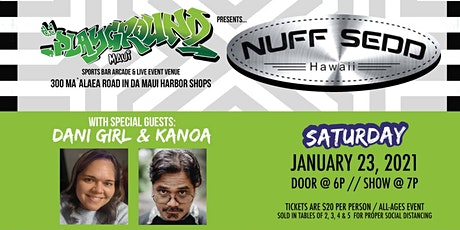 Nuff Sedd with special guests Dani Girl and Kanoa  tickets