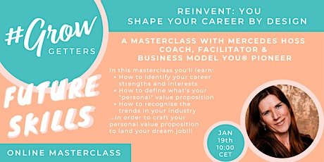 REINVENT: YOU! Shape Your Career by Design tickets