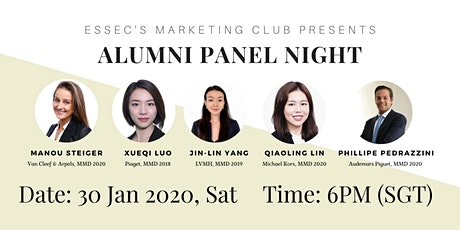 A night with our alumni from: the luxury industry tickets