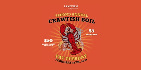 The Colony's 2nd Annual Fat Tuesday Crawfish Boil tickets