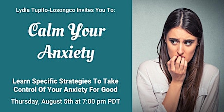 Calm Your Anxiety tickets