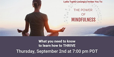 The Power of Mindfulness tickets