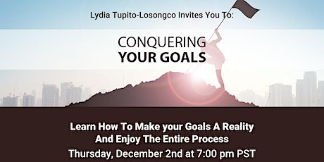 Conquering Your Goals tickets
