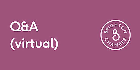 Q&A (virtual): Becoming a charity trustee tickets