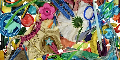Recycling collage workshop for families tickets