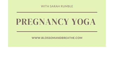 Pregnancy Yoga  6 Weeks tickets