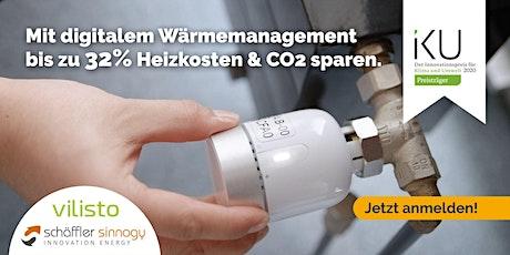 """Webinar """"Mit digitalem Wärmemanagement bis zu 32% Heizkosten sparen"""" Tickets"""
