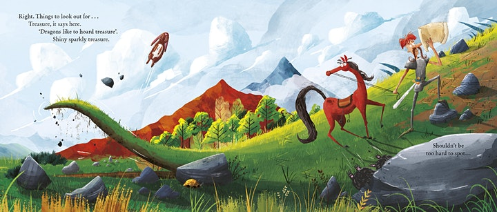 Free Kids Event - Here Be Dragons! with Susannah Lloyd and Paddy Donnelly image