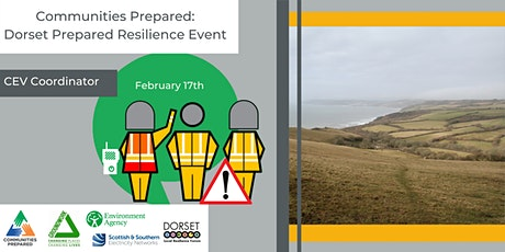 CEV Coordinator: Dorset Prepared Resilience Event tickets