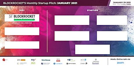 BLOCKROCKET's Monthly Startup Pitch: January 2021 tickets