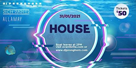 PARTY ON THE BOAT tickets