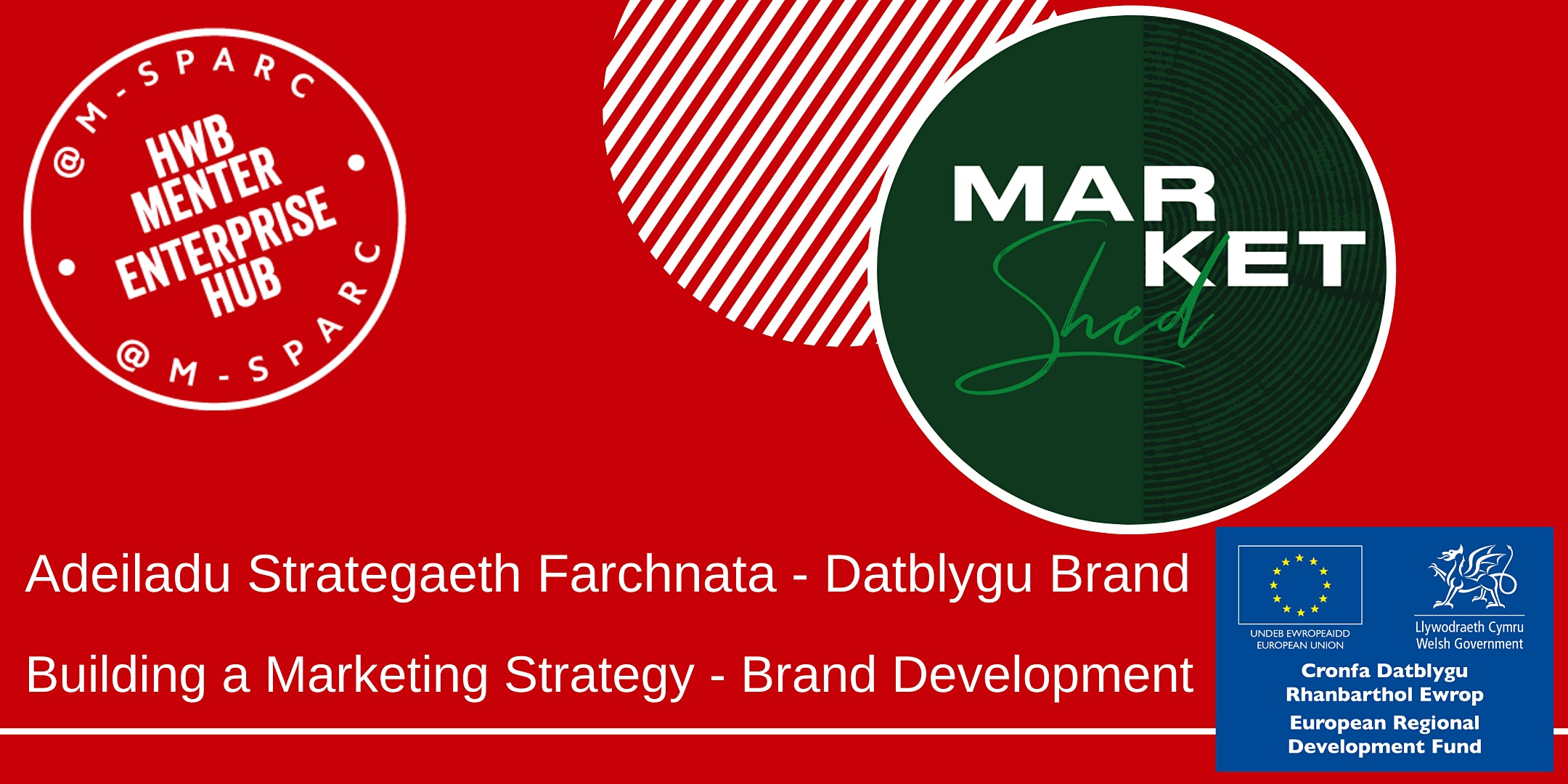 Adeiladu Strategaeth Farchnata // Building a Marketing Strategy