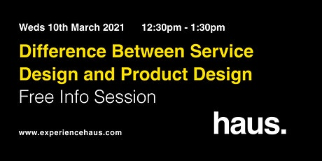 Difference between Service Design and Product Design tickets