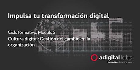 Impulsa tu transformación digital: Cultura Digital. Gestión del cambio entradas