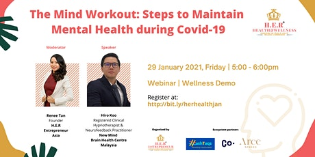The Mind Workout: Steps to Maintain Mental Health during Covid-19 tickets