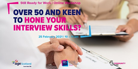 Still Ready for Work | Interview Skills tickets