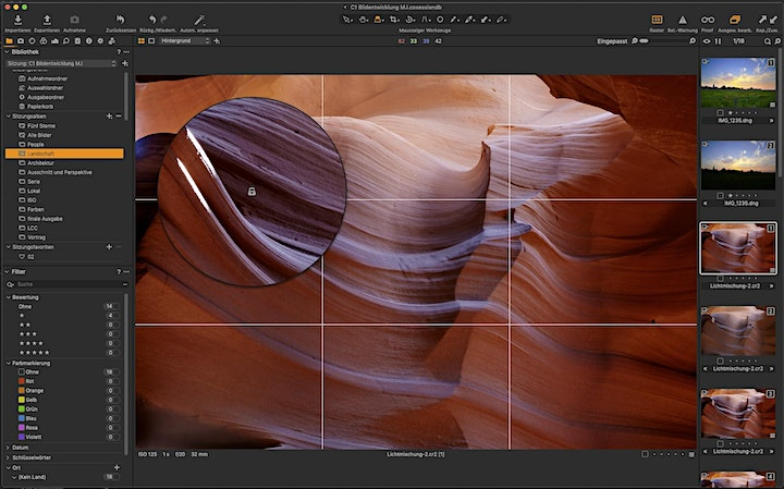 Capture One – Fotografischer Workflow: Bild