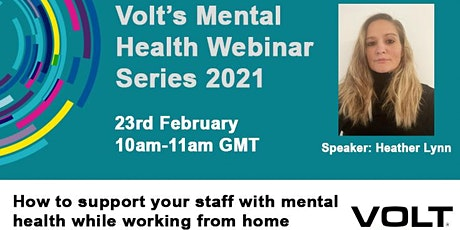 Managing Mental Health Remotely tickets