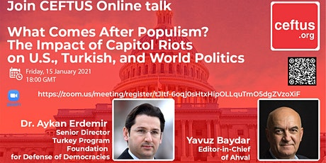 What Comes After Populism? The Impact of Capitol Riots on Politics tickets