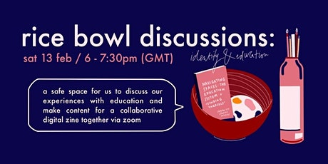 Rice Bowl Discussions: Identity and Education tickets