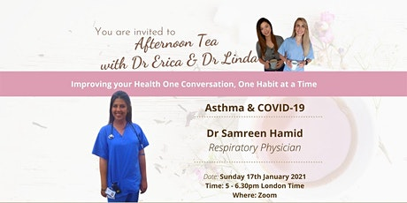 Asthma & COVID19  Lifestyle Medicine - Respiratory Physician tickets