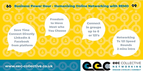 EEC Collective Business Online Networking Power Hour tickets