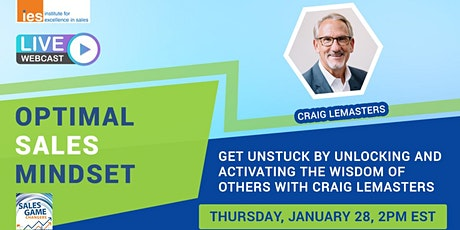 OPTIMAL SALES MINDSET: Unlocking and Activating the Wisdom of Others tickets