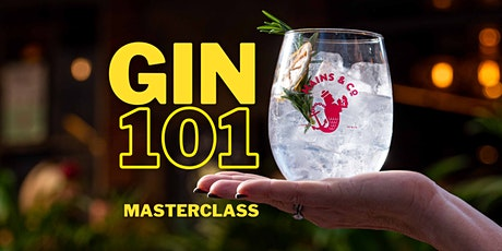 The Gin 101 Masterclass - presented by Hains & Co in March tickets