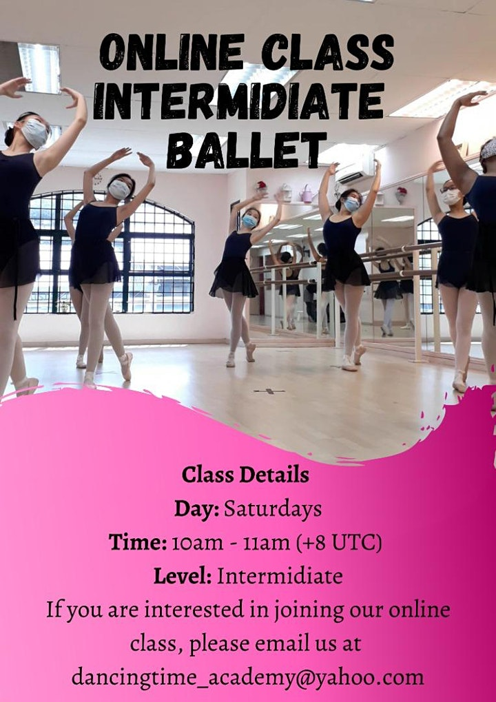 Open Class - Classical Ballet for young adult, intermediate, advance level. image