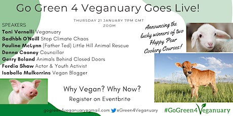 Go Green 4 Veganuary Goes Live! tickets