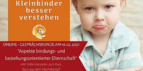 """Gesprächsrunde """"Aspekte bindungs- und beziehungsorientierter Elternschaft"""" Tickets"""