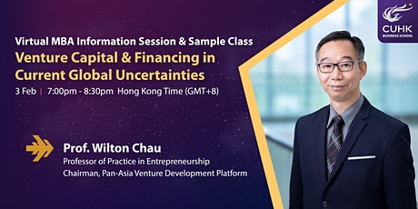 Virtual CUHK MBA Info Session & Sample Class tickets