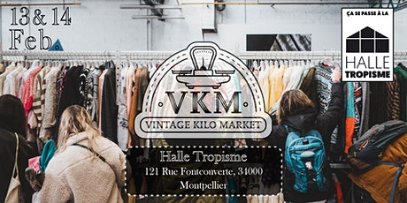Vintage Kilo Market - Montpellier billets