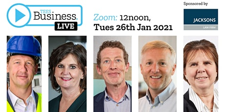 Tees Business LIVE tickets