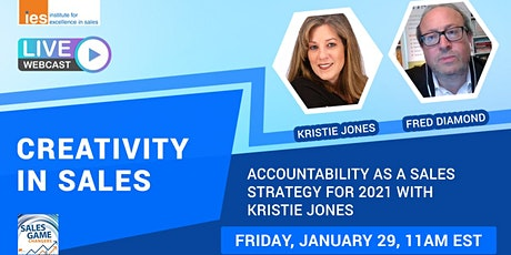 CREATIVITY IN SALES: Accountability as a Sales Strategy for 2021 tickets