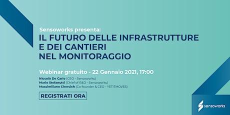 Sensoworks: il futuro delle infrastrutture e dei cantieri nel monitoraggio biglietti