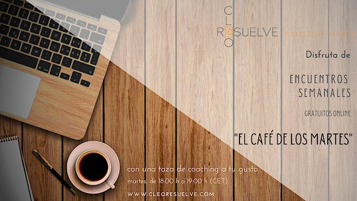 Imagen de El Café de los Martes: Encuentros de Coaching Online Gratuitos