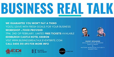 Business Real Talk tickets