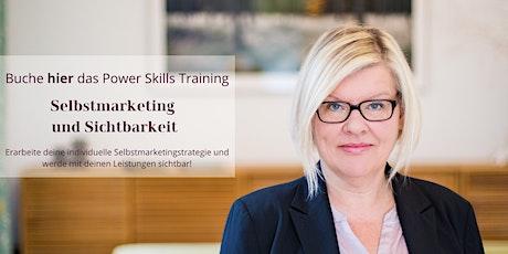 Training Selbstmarketing und Sichtbarkeit Tickets