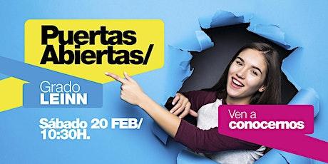 LEINN/ PUERTAS ABIERTAS MADRID [20 FEB | 10H30] entradas
