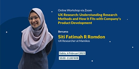 UX Research: Understanding Research Methods tickets