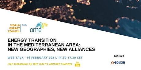 Energy transition in the Mediterranean Area: new geographies, new alliances tickets