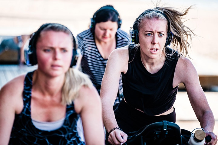 Bodhi Open Air | Australia Day Beach SPIN class at SMLSC image