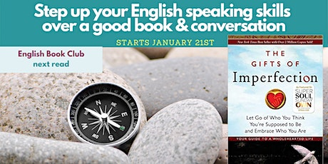 English Book Club 2021: Brené Brown Gifts of Imperfection (8-week program) tickets