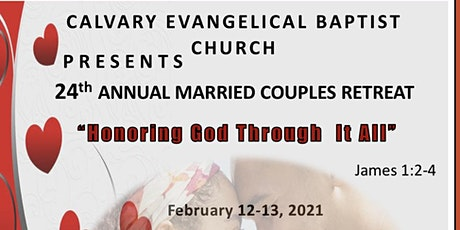 """Married Couples Retreat """"Honoring God Through It All"""" tickets"""