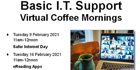 Basic IT Support - Virtual Coffee Morning tickets