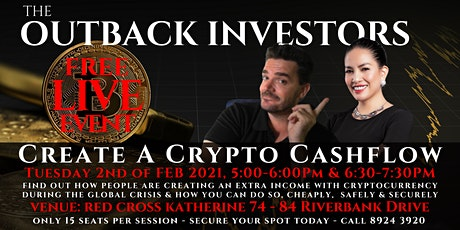 Create a Cashflow with Crypto : LIVE Event tickets