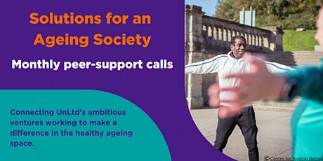Solutions for an Ageing Society online peer support January tickets