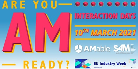 Interaction Day AM as a key enabling technology for Europe's digital future tickets