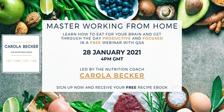 Master Working From Home - Webinar tickets